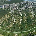 Les gorges du Verdon - vue panoramique par Mario Graziano - La Palud sur Verdon 04120 Alpes-de-Haute-Provence Provence France