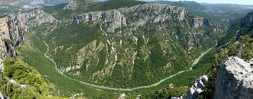 Les gorges du Verdon - vue panoramique par Mario Graziano