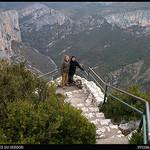 Les Crètes du VERDON par Sylvia Andreu - La Palud sur Verdon 04120 Alpes-de-Haute-Provence Provence France