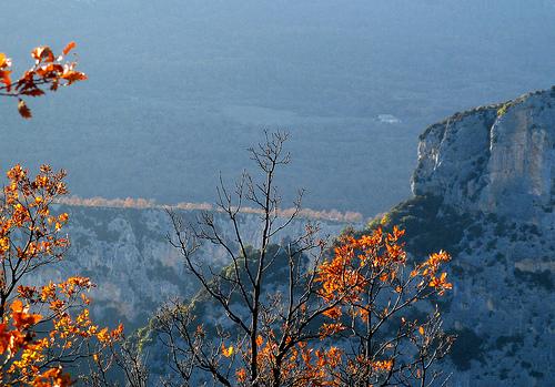 Verdon - Lumière sur la rive gauche par myvalleylil1