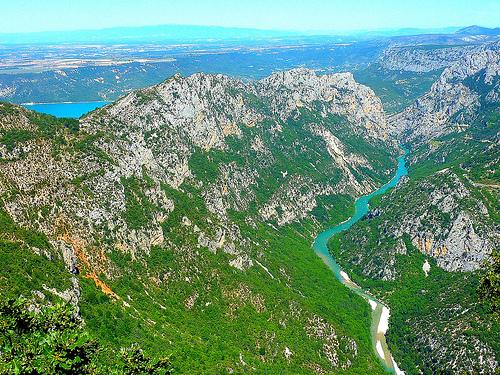 Les Gorges du Verdon : depuis la route des Crêtes par nic( o )
