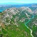 Les Gorges du Verdon : depuis la route des Crêtes par nic( o ) - La Palud sur Verdon 04120 Alpes-de-Haute-Provence Provence France