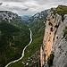 Le lit du Verdon - Gorges du Verdon par Hervé D. - La Palud sur Verdon 04120 Alpes-de-Haute-Provence Provence France