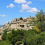 Vue sur le village de Lurs by Tinou61 - Lurs 04700 Alpes-de-Haute-Provence Provence France