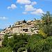 Vue sur le village de Lurs par Tinou61 - Lurs 04700 Alpes-de-Haute-Provence Provence France