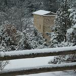 La neige à Mallefougasse par Patrick.Raymond - Mallefougasse Augès 04230 Alpes-de-Haute-Provence Provence France