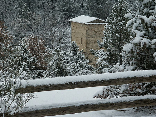 La neige à Mallefougasse par Patrick.Raymond
