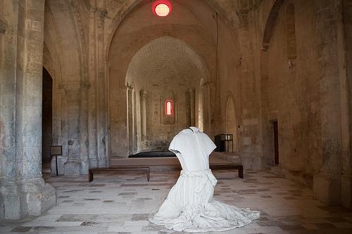 Prieuré de Salagon à Mane : Le fantome du prieuré par pascal548