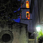 Manosque by night, Eglise St Sauveur by  - Manosque 04100 Alpes-de-Haute-Provence Provence France