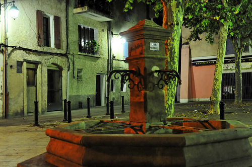 Manosque by night - Fountain par Patrick.Raymond
