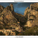 Moustiers Ste Marie (Provence) by michel.seguret - Moustiers Ste. Marie 04360 Alpes-de-Haute-Provence Provence France