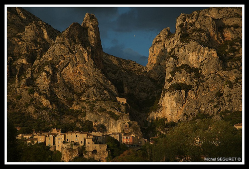 Moustiers Ste Marie (Provence) par michel.seguret