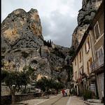 Moustiers Ste Mairie par Sylvia Andreu - Moustiers Ste. Marie 04360 Alpes-de-Haute-Provence Provence France