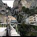 Moustier : Place de l'Eglise by Sylvia Andreu - Moustiers Ste. Marie 04360 Alpes-de-Haute-Provence Provence France