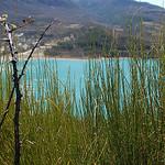 contraste vert / bleu by Mattia_G - Moustiers Ste. Marie 04360 Alpes-de-Haute-Provence Provence France