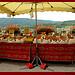 Marché Provençal à Moustier Sainte Marie par Sylvia Andreu - Moustiers Ste. Marie 04360 Alpes-de-Haute-Provence Provence France