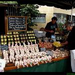 Marché Provençal à Moustier par Sylvia Andreu - Moustiers Ste. Marie 04360 Alpes-de-Haute-Provence Provence France