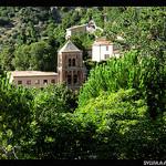 Campanile de Moustier Sainte Marie par Sylvia Andreu - Moustiers Ste. Marie 04360 Alpes-de-Haute-Provence Provence France