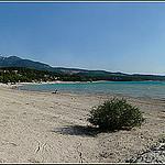 Plage sur le Lac de Sainte-Croix par myvalleylil1 - Moustiers Ste. Marie 04360 Alpes-de-Haute-Provence Provence France