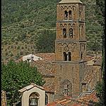 Trois clochers par Sylvia Andreu - Moustiers Ste. Marie 04360 Alpes-de-Haute-Provence Provence France