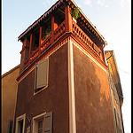 Tour Terrasse par Sylvia Andreu - Moustiers Ste. Marie 04360 Alpes-de-Haute-Provence Provence France