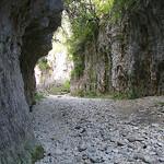 Gorges d'Oppedette formées par la rivière Calavon par Serge Robert 984 - Oppedette 04110 Alpes-de-Haute-Provence Provence France