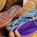Provencal market : espadrilles par Olivier Penel - Puimoisson 04410 Alpes-de-Haute-Provence Provence France