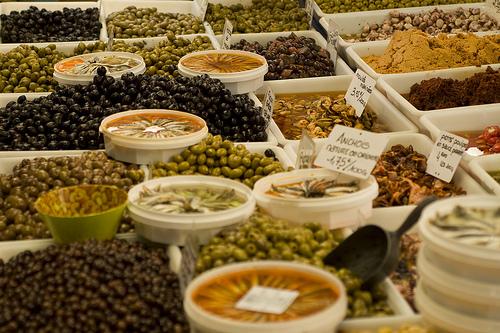 Market : Olives and ansjovis par AJanssen