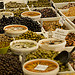 Market : Olives and ansjovis by AJanssen - Riez 04500 Alpes-de-Haute-Provence Provence France