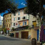 Centre du village de Riez par Reinhold.Lotz - Riez 04500 Alpes-de-Haute-Provence Provence France