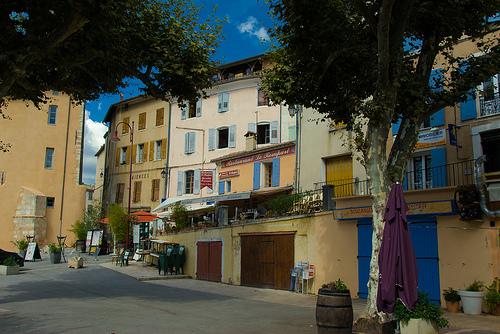 Centre du village de Riez par Reinhold.Lotz