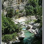 Les gorges du Verdon by myvalleylil1 - Rougon 04120 Alpes-de-Haute-Provence Provence France