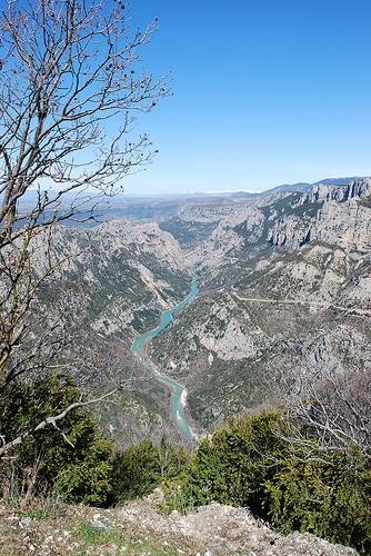 Le grand canyon en provence : le verdon par Mattia_G