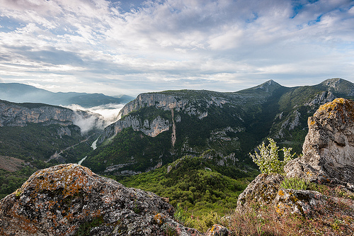 Gorges du Verdon version mystique by lifehappenstoyou