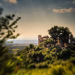 Clocher de Saint-Jurs par yesmellow - St. Jurs 04410 Alpes-de-Haute-Provence Provence France