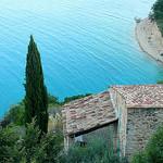 Vue plongeante sur le Lac de Sainte-Croix by Margotte apprentie naturaliste 2 - Sainte Croix du Verdon 04500 Alpes-de-Haute-Provence Provence France