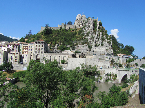 Le rocher de Sisteron par Olivier Nade