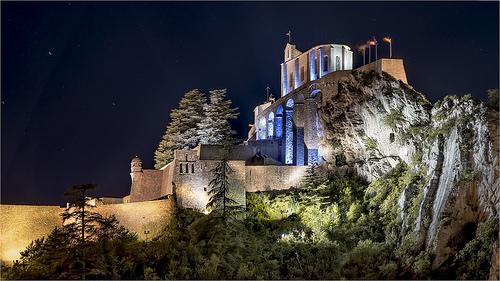 Sisteron de nuit - Haute Provence par cicay