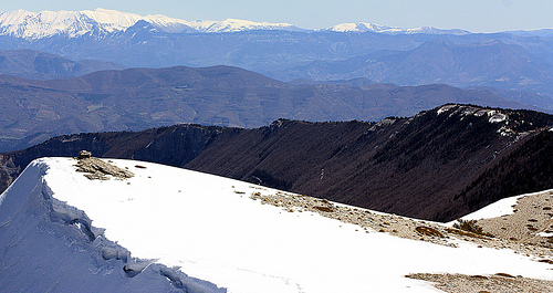 Montagne de Lure par J.P brindejonc