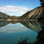 Lost in Reflections - Lac de Castillon by Sokleine - St. Andre les Alpes 04170 Alpes-de-Haute-Provence Provence France