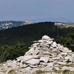 Cairn au Sommet de Lure by  - St. Etienne les Orgues 04230 Alpes-de-Haute-Provence Provence France