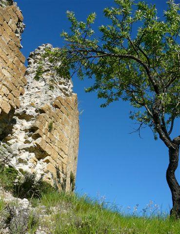 Ruines et ciel bleu à Saint Naime par Margotte apprentie naturaliste 2