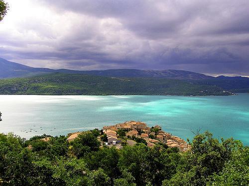 Le Lac de Sainte-Croix en Provence par woll_gras