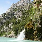 Waterfall, Verdon Gorge by spencer77 - Sainte Croix du Verdon 04500 Alpes-de-Haute-Provence Provence France