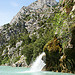 Waterfall, Verdon Gorge by Carine.C - Sainte Croix du Verdon 04500 Alpes-de-Haute-Provence Provence France