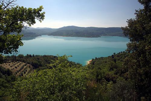 Lac de Sainte-Croix by  Alexandre Santerne 