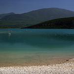 Lac de St Croix par  Alexandre Santerne  - Sainte Croix du Verdon 04500 Alpes-de-Haute-Provence Provence France