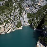 Début des gorges du Verdon by  Alexandre Santerne  - Sainte Croix du Verdon 04500 Alpes-de-Haute-Provence Provence France