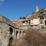 La tour et village de Volonne par  - Volonne 04290 Alpes-de-Haute-Provence Provence France