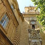 Mairie d'Aix-en-Provence et sa tour de l'horloge by Meteorry - Aix-en-Provence 13100 Bouches-du-Rhône Provence France